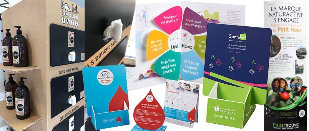 PLV carton : sélection de créations PLV originales et innovantes signées Toutankarton